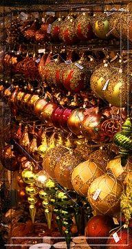 ornaments...golden