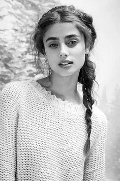 "Taylor Marie Hill in ""Winter Wonderland"", for For Love & Lemons Knitz Holiday 2014 Lookbook, photographed by Zoey Grossman"