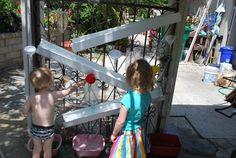 Water Wall/ Ball Run | Familylicious Reviews and Giveaways
