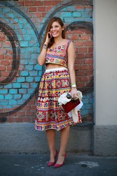 Street style milan fashion week spring 2014 « fashionmagazine.com