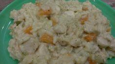 Zöldséges csirke rizottó Mashed Potatoes, Ethnic Recipes, Food, Whipped Potatoes, Smash Potatoes, Essen, Meals, Yemek, Eten