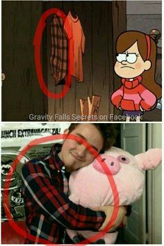 Alexs shirt is in Mabel and Dippers closet, next to the invisible wizard<<<Alex is the invisible wizard.
