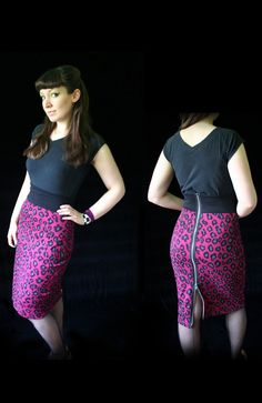 Hey, I found this really awesome Etsy listing at http://www.etsy.com/listing/100786818/rockabilly-pencil-skirt-zipper-back