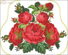 [New] Romântico Rosas Bolsa - Produzido por www.pindiy.com