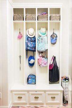 mudroom lockers and