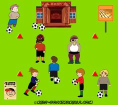 Dribbling - Carrying gold - Kids Soccer - Soccer drills for kids from to - Soccer coaching with fantasy Soccer Drills For Kids, Soccer Practice, Soccer Skills, Kids Soccer, Soccer Stars, Soccer Games, Play Soccer, Kids Football, Top Soccer