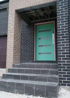 PGH Espresso Black House, Espresso, Brick, Charcoal, House Ideas, New Homes, Houses, Exterior, Colours