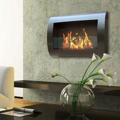 Chelsea Black Indoor Fireplace