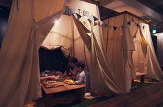 TENT SPACE(テントスペース)|エイトパーク【EIGHT PARK】エイトパーク・ハチドルチェ。名古屋市瑞穂区・瑞穂運動場東の完全個室のカフェとスイーツのダイニングバーの複合ショップ