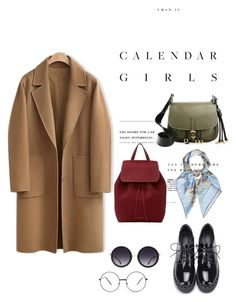 """""""Untitled #8"""" by jkopossova-1 on Polyvore featuring WithChic, Kerr®, Mansur Gavriel, Prada, Alice + Olivia and Hermès"""