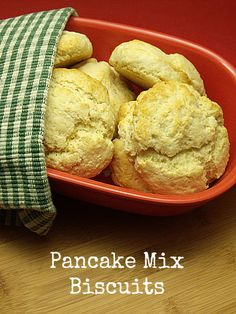 Pancake Mix Buttermilk Biscuits