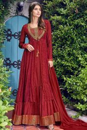Lovely Red Colored Indo-Western Suit With Printed Jacket #Fabja #anarkalisuit #salwarsuit #designersalwarsuit #anarkalisalwarsuit #anarkalidress #partywearsuit #women #love #fashion #salwarkameez #weddingwear #suitlove #festivesuit #weddingsalwarsuit #receptiondress #salwarsuitonline #netdress #anarkalisuits #anarkali #anarkalidress #anarkalistyle #dresses #redsuit #reddress