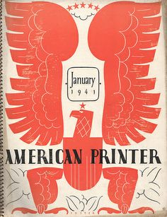 The American Printer 1941 | Flickr - Photo Sharing!