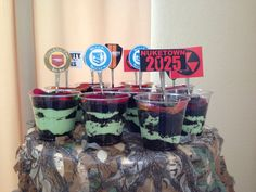 Call of duty black ops cupcakes jazz it up cupcakes for Black ops 3 decorations