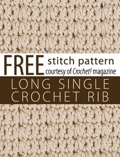 Watch This Video Beauteous Finished Make Crochet Look Like Knitting (the Waistcoat Stitch) Ideas. Amazing Make Crochet Look Like Knitting (the Waistcoat Stitch) Ideas. Crochet Stitches Chart, Different Crochet Stitches, Stitch Crochet, Crochet Cross, Tunisian Crochet, Learn To Crochet, Crochet Motif, Crochet Patterns, Crochet 101