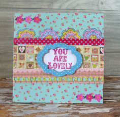 Life in a Snapshot: Trimcraft Serendipity Card Inspiration