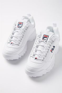 41b3c44a0859 FILA CHUNKY TRAINER | Factorie | WHITE Fashion 2018, I Love Fashion, Fila  Disruptors