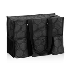 Zip-Top Organizing Utility Tote in Cross Pop Dot for $35 - This versatile tote is one of our top sellers, and it's on special only in January! With seven exterior pockets and a zipper to keep everything safe and secure, it's the perfect bag to keep you organized on the go. Via @thirtyonegifts