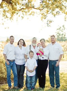 The Jenkins family of CLARBEC Wines, Sonoma Valley.