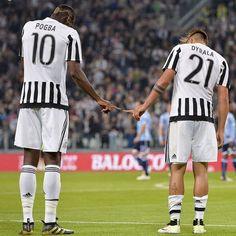 Paul #Pogba e Paulo #Dybala