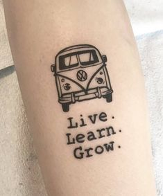 Grab your hot tattoo designs. Get access to thousands of tattoo designs and tattoo photos Vw Tattoo, Car Tattoos, Mini Tattoos, Body Art Tattoos, Small Tattoos, Tatoos, Tattoo Arm, Future Tattoos, Tattoos For Guys