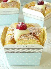 Nasi Lemak Lover: Hokkaido chiffon cupcakes 北海道牛奶蛋糕