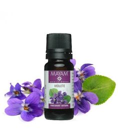 """Parfumant natural """"Violete"""" 10 ml Deodorant, Perfume Bottles, Cosmetics, Arc, Floral, Nature, Clever, Handmade, Beauty"""