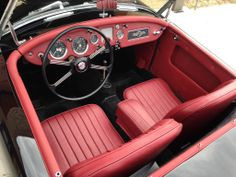 """1959 MGA restored to """"deluxe"""" black/red"""