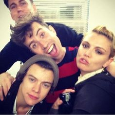 Harry Styles And Nick Grimshaw :) and others lol