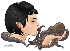 tentacle art | Tentacle Love by ~Mel2DaIssa on deviantART
