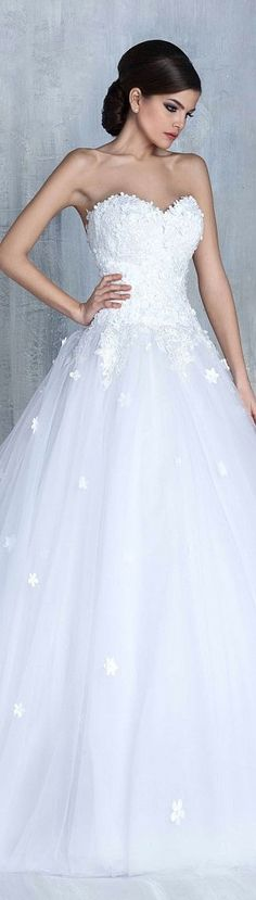 Tony Chaaya bridal 2016 For more great ideas go to www.destinationweddingcollective.com