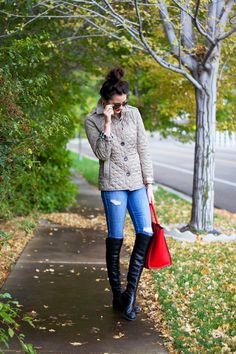Layered for fall…