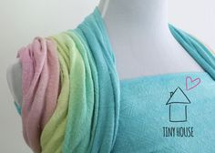 Didymos Natural Hemp Indio (NHI) dyed in a smooth low water immersion
