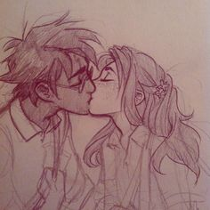 Finding old sketches like #AllHarryandGinny #AllOfThem