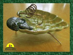 Cigarette Ashtray, Green Grapes,1950's, Very Cool! on Etsy, $27.04