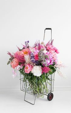 Basket of Flowers!