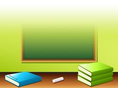books and pencils back to school ppt backgrounds powerpoint