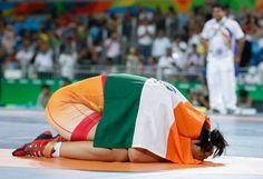Sakshi Malik - Bronze at Rio2016