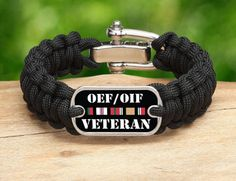We are fired up to add Operation Enduring Freedom & Operation Iraqi Freedom Veterans Survival Straps® gear to our Military/Patriotic collection.