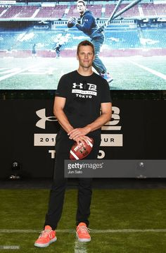 Under Armour 2017 Tom Brady Asia Tour In Tokyo Day 1 Stock Pictures, Royalty-free Photos & Images Tokyo Tour, Go Pats, Patriots Football, The Blitz, Boston Sports, Tom Brady, New England Patriots, Tampa Bay