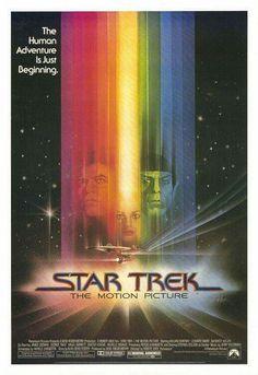 Star Trek: The Motion Picture - one sheet poster - USA - William Shatner - Leonard Nimoy - Robert Wise - Bob Peak artwork Star Trek, Film Posters, Sci Fi Movies, Picture, Science Fiction Film, Fiction Movies, Vintage, Movie Posters, Film