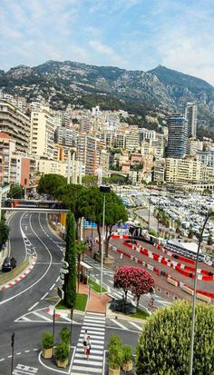 Monaco - legend has it, it's expensive. And, it is. The casino is awesome, and the view from the top of the mountain is amazing, plus seeing the Monaco Grand Prix race track go through the city is pretty cool too. A must stop when you're in France. // @imaginebackpack // #travel #Europe #backpacking