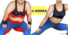 This workout is aimed on changing your body just in a four weeks. There are only 4 exercises that everyone can do at home or at a gym. They are very simple....
