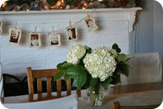 One of my favorite projects - the garland I made with photo's of my grandchildren ;-)