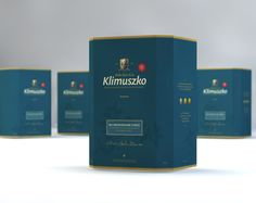 Package design for Klimuszko brand.