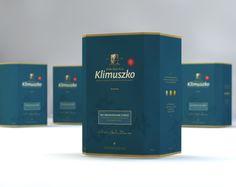 Package design for Klimuszko brand.