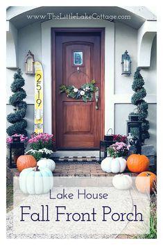 Lake House Fall Fron