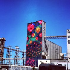 Bay Area Life: Check out The Bayview -Giant Mural Bayview San Francisco - Creative Business League Blog