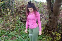 BARA Pink Long Sleeve Bermuda Shorts, Sportswear, Long Sleeve, Sleeves, Nature, Pink, Women, Fashion, Moda