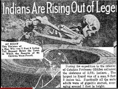 Nephilim Chronicles: Giant Human Skeletons: Catalina Island was the Home of a Race of Giants with Double Rows of Teeth